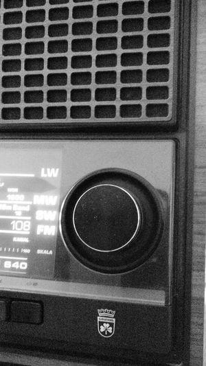 Old Radio Grundig Technology Vintage Radio Circle Window Indoors  No People Close-up Day