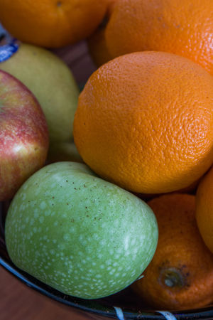 Apple Citrus  Citrus Fruit Close-up Day Food Food And Drink Freshness Fruit Fruit Bowl Healthy Eating Indoors  No People