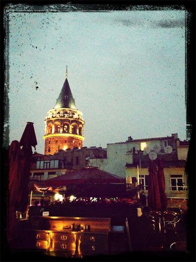 Galata Tower Galata Kulesi Istanbul Shine