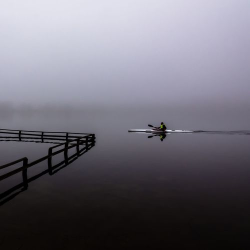 Kayaker in the