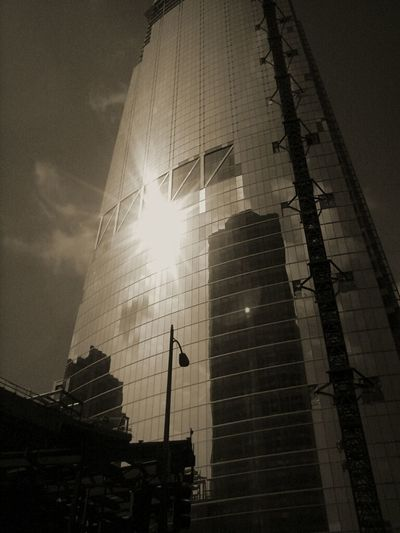Los Angeles Downtown Eyem Best Shots Check This Out EyeEm X Getty Images Black And White Photography Up Close Street Photography Cellphone Photography Skyscraper
