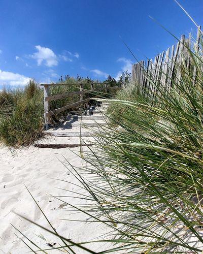 plage de kerler Bretagne Sky