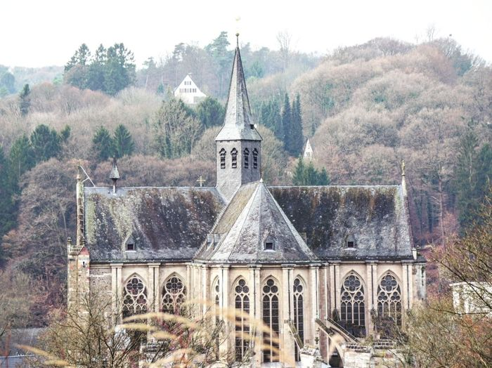 Built Structure Architecture Religion Outdoors Building Dom Altenberger Dom
