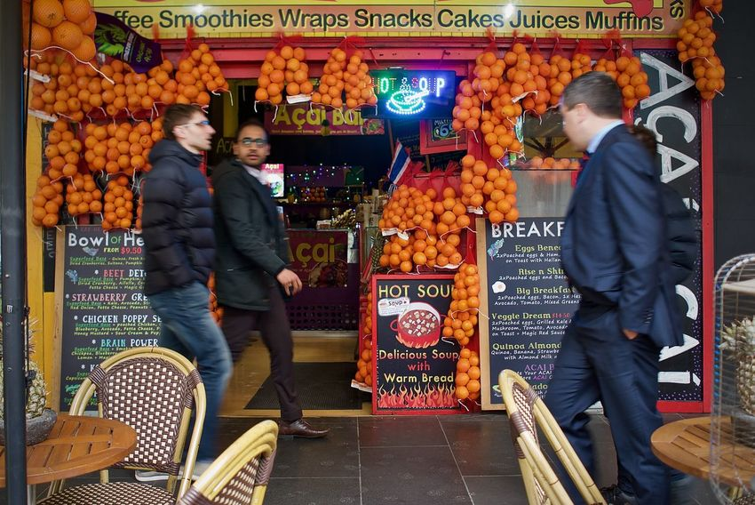 City Street Fruit Stand Melbourne City Business Food Food And Drink Health Food Healthy Eating Melbourne Oranges Retail  Smoothie Street Photography