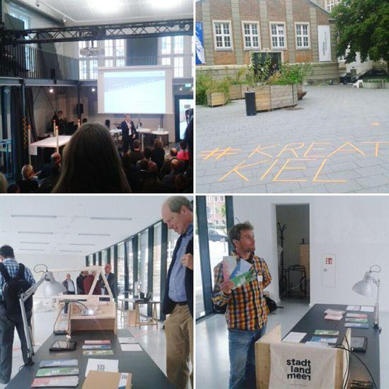 Kickoff von www.stadt-land-meer.de im rahmen von Kreativkiel. Let YOUR Coworking region begin!!
