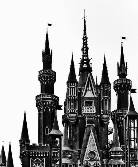 Black And White Architecture Outdoors Monochrome Photography Middle Ages Gothiccastle Castle