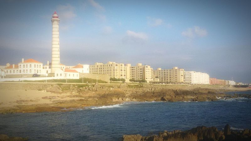 Lecadapalmeira Farol Beach Panoramic Photography Landscape Sea Sand Sky Rocks