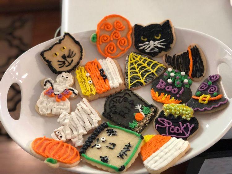 EyeEm Selects cookies Halloween Cookie HalloweenCookies Food