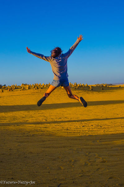 Beauty In Nature Jumping Kiss Perth Australia Pinnacles Pinnacles Desert Pinnacles National Park Sunset Sunset_collection