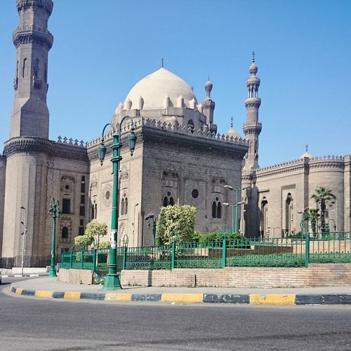 Mosque Egypt Cairo Islamic Architecture