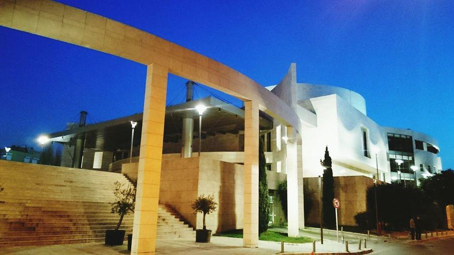 Culture Center  Art Center Architecture ArtWork Bluesky Artistic Architectureporn Izmirlife Sundaynight Walking Around