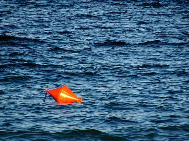 Water No People Sea Outdoors Day Nature Swimming Buoy On The Water