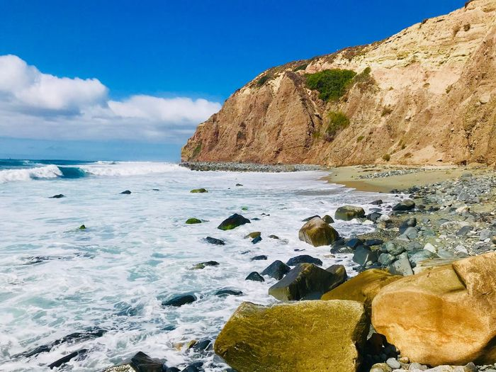 dana point beach EyeEm Selects Sea Water Sky Beauty In Nature Rock Scenics - Nature Beach Nature Rock Formation