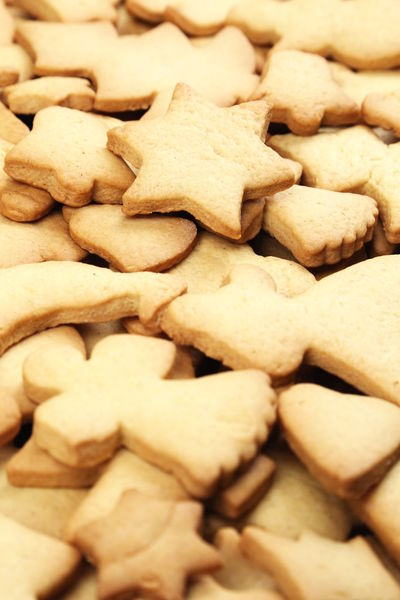 Christmas Cookies Family Shapes Temptation Arrangement Butter Close Up Close-up Food Full Frame Handmade Homamade No People Preparation  Star Sweet Food