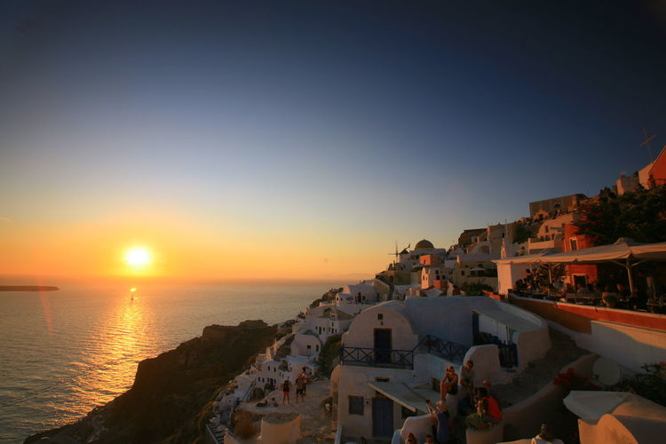 The best sunset I have ever seen in Santorini, Greece ArchitectureTraveling Nature_collection Landscape