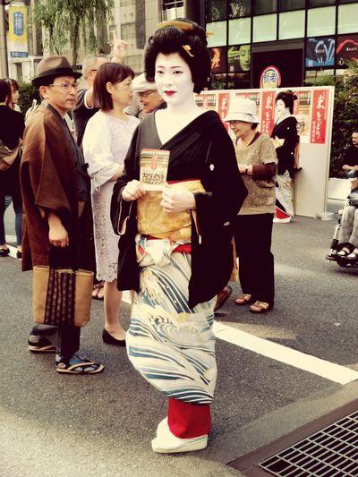 yanagi-matsuri City People City Life Females Road