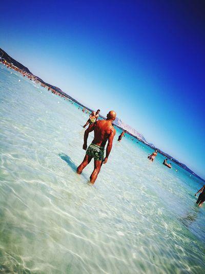 Spiaggia la cinta san Teodoro San Teodoro Sardegna😍😍👍👌 Vacanze 2016 Man Body & Fitness Abbronzatura Mare Italy Sardegnaalmare