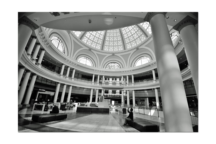 The Westfield San Francisco Centre 6 The Architect - 2016 EyeEm Awards Upscale Urban Shopping Mall 1991 The Dome The Centre's Jewel Centerpiece Bnw_friday_eyeemchallenge Black & White Black And White Collection  Black And White Arched Windows Arches Black And White Photography Columns Pattern Pieces Geometric Patterns Architecture Architecture Details Architecture_collection Mall Interior Urban Photography Monochrome Owned By The Westfield Group Anchor Tenets : Nordstrom & Bloomingdale Owned: The Westfield Group Forest City Enterprises 180+ Stores 500,000 Square Ft. San Francisco State University Satellite Campus