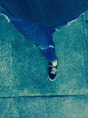 'on my own' Selfie ✌ Legsselfie Legs My Legs Ripped Jeans