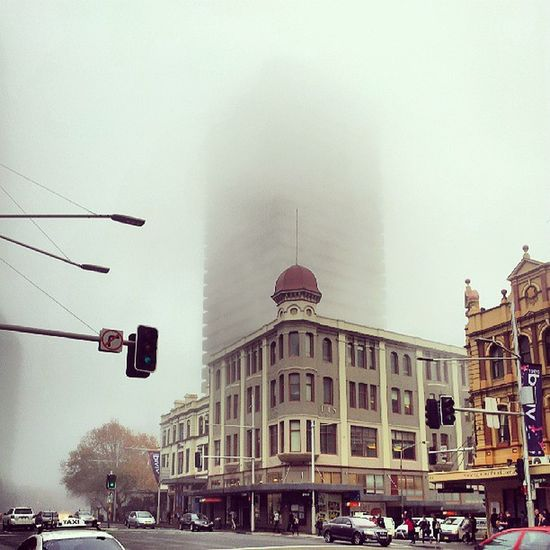 Uts in the Fog . Sydney