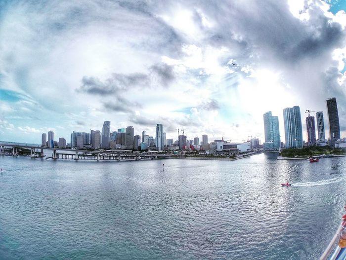 Miami Miami Skyline Ocean
