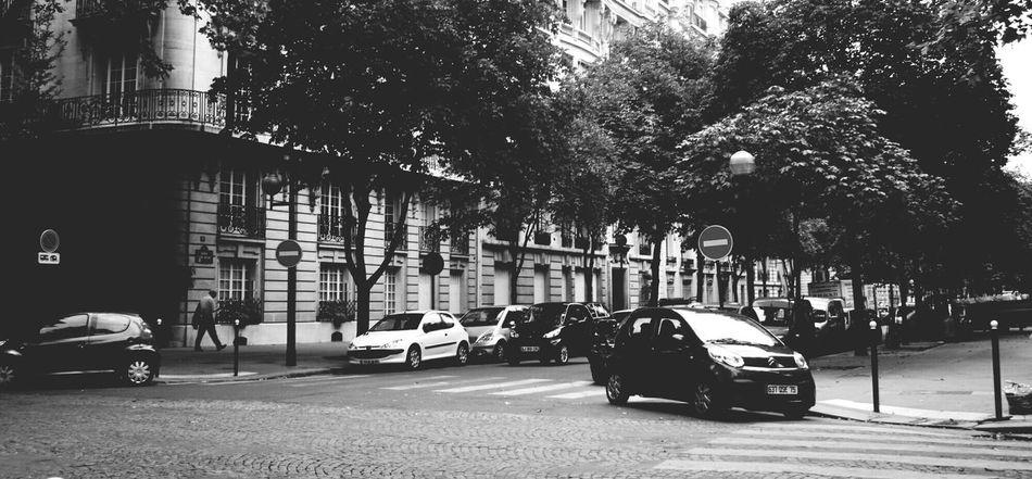 Random shot of the street Streetphotography Paris Summer Don Filter