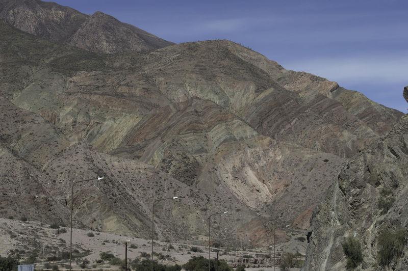 Beuty Of Nature Cerro De Los 7 Colores Contrastes Naturales Day Geology Jujuy! Purmamar Purmamarca