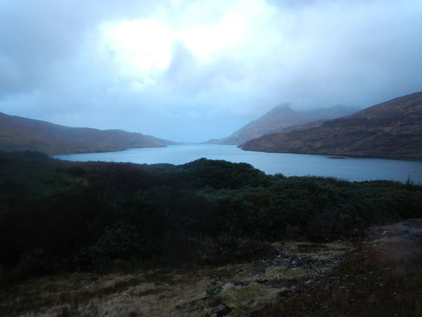 Evening at Ireland's fjord Inlet Killary Harbour Beauty In Nature Fjord Mountain Outdoors Scenery Tranquil Scene Water