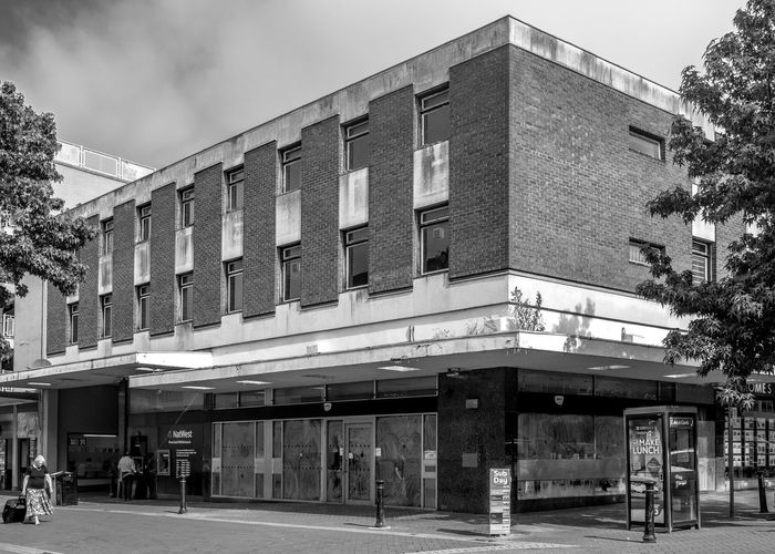 Former National Westminster Bank, Bedford Bank Natwest Bedford Blackandwhite Black And White Monochrome Street Urban FUJIFILM X-T2 Architecture Building Exterior Built Structure