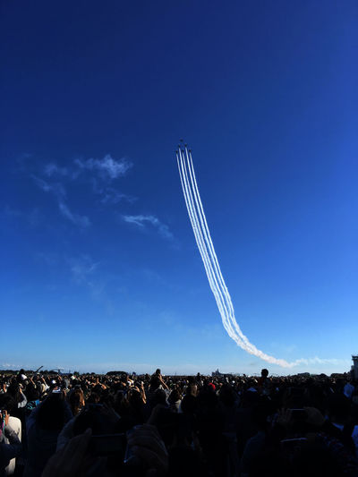 Iruma Air Base Airshow Skyporn 背後から飛来してきて急上昇! Autumn Colors Fall Colors Airplane EyeEm Best Shots Blue Blue Sky