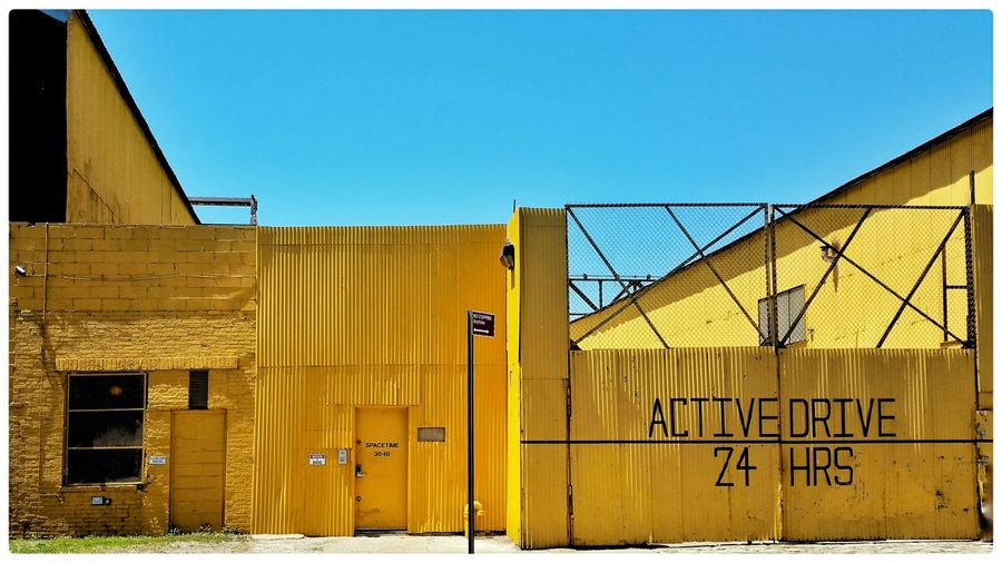 SPACETIME: no stopping anytime LIC Long Island City NYC Yellow Street Photography Open Edit