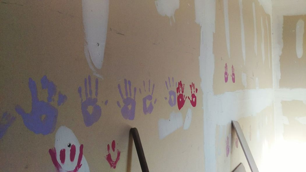 When you come to love a place so much that their handprints land straight onto your heart. Juarez CiudadJuarez Rebuilding