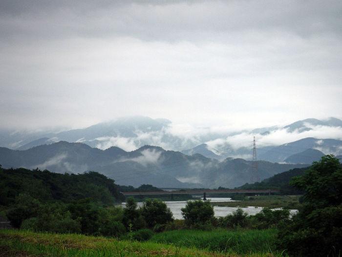 After The Rain Fog Japan Japanese  KYUSHU Landscape Mountains Nature Overcast River Ultimate Japan