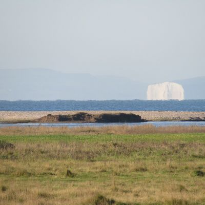 Selsey Looking Towards Isle Of Wight Nature Grass Landscape Scenics No People Tranquil Scene Mountain Beauty In Nature Day Tranquility Outdoors Water Clear Sky Sky