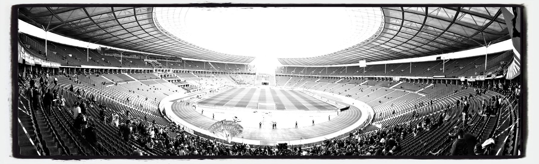 Before The Game Hertha BSC Blackandwhite Berlin