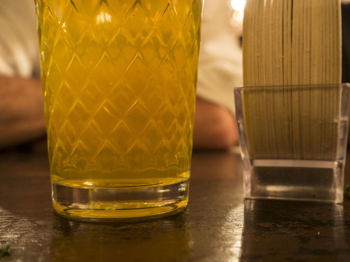 Geripptes Alcohol Applewine Cider Close-up Drink Drinking Glass Focus On Foreground Food And Drink Refreshment Table