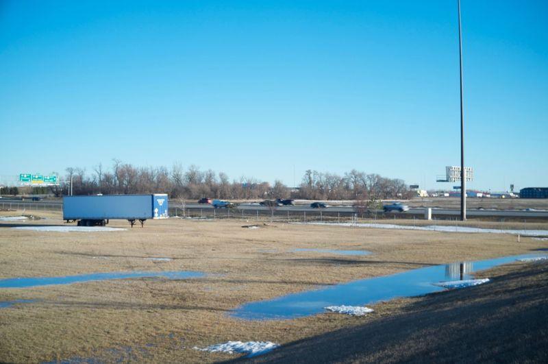 Fargo, North Dakota / February 19, 2016 Calm Copy Space Distant Environmental Conservation Fargo FootPrint Horizon Over Water Journey Leading North Dakota Outdoors Scenics Sea South Fargo The Way Forward Tranquil Scene Tranquility Water