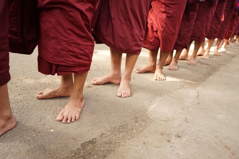 Walk This Way Everyday Joy Streetphotography Myanmar Amanpura Photography Travel Photography Mandalay Monk