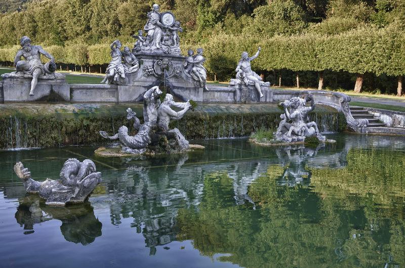 Campania Fontana Di Cerere, Reggia Di Caserta Human Representation Italy❤️ Reflection Reggia Di Caserta Sculpture Water