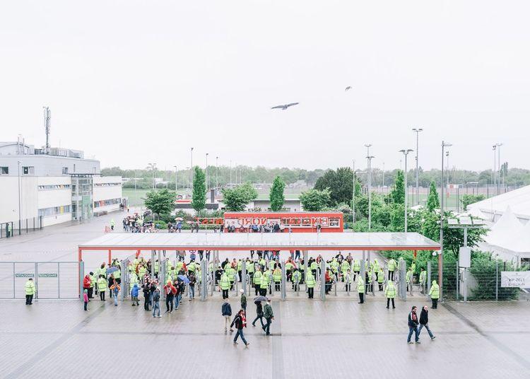 Soccer Football Stadium Fortuna Düsseldorf Fussball Football Stadium Security Documentary in Düsseldorf Germany