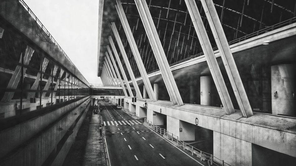 Airport Shanghai,China China City Girder Bridge - Man Made Structure Suspension Bridge Sky Architecture Built Structure Footbridge Railway Bridge Rope Bridge