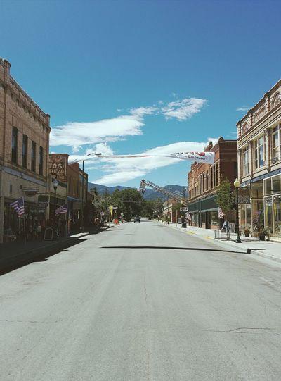 empty street. Vscocam Streetview Salida Usa Pro Challenge