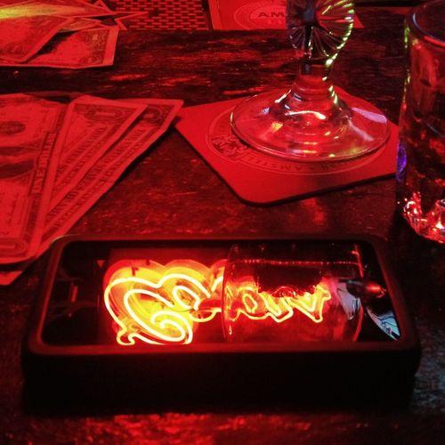 Last Drink, I Promise Dive Bar Neon Lights