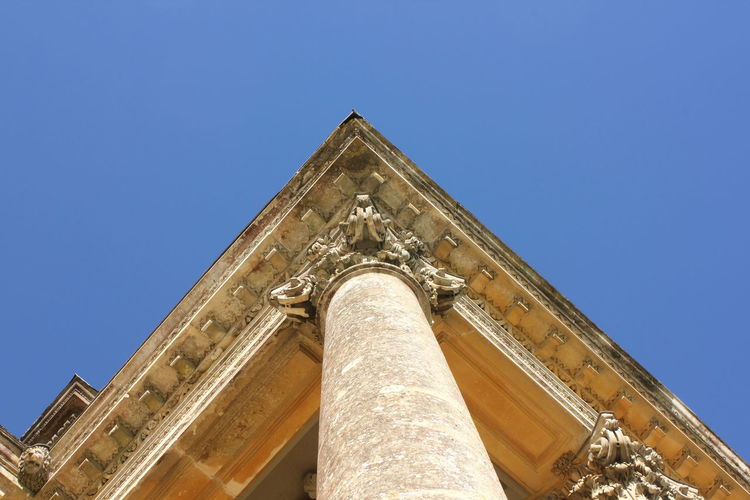 Architectural Column Architecture Building Exterior Built Structure Column Historic History Low Angle View Ornate