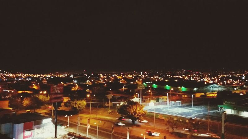 night view san jose costa rica Night Illuminated Cityscape City High Angle View Outdoors Nightlife