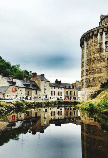 Architecture Bretagne Water Reflection Nature Picturemoments Fougères Myregion Beautiful France