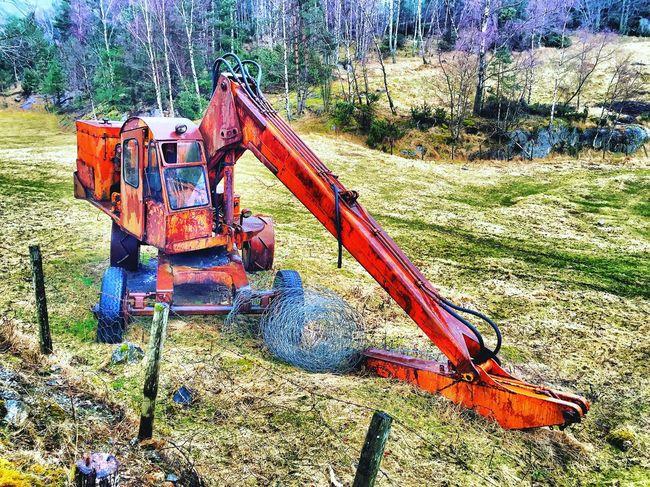 Abandoned excavator ⚠️🚷🚧 Abandoned Excavator Norway Norge Forsand Oanes Skeivik Gravemaskin