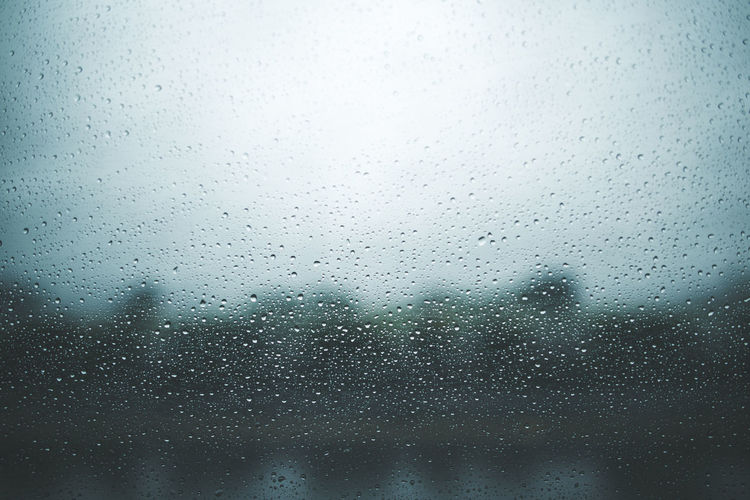 Moody day Moody Sku Backgrounds Close-up Day Dew Drop Full Frame Glass - Material Indoors  Moody Nature No People Purity Rain RainDrop Rainy Season Sky Transparent Water Wet Window