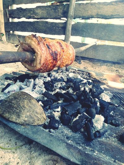 grilled pork belly Grilled Meat Grilled Grilledpork Porkbelly Lechon EyeEm Best Shots EyeEm Gallery EyeEmNewHere Eyeem Philippines Eye4photography  Eyem Gallery Eyemphotography EyeEm Selects Sunlight High Angle View Close-up