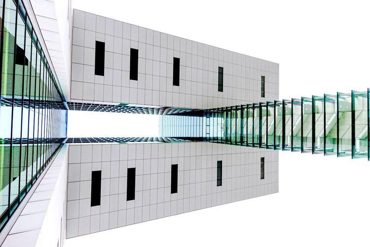 The Graphic City Rheinufer Minimalist Architecture